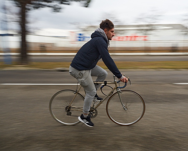 Barrido en Bicicleta