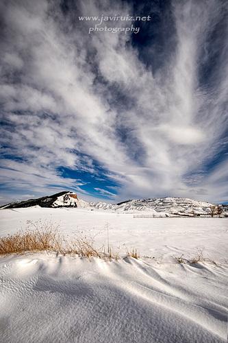 Peña Hueva nevada