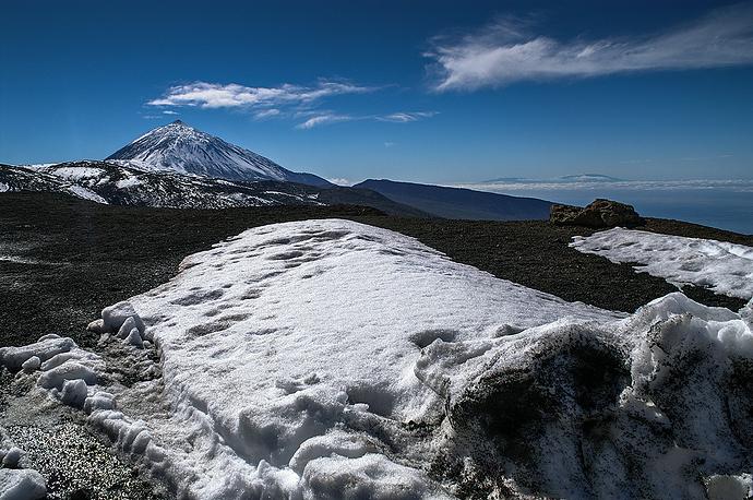 Teide nieve