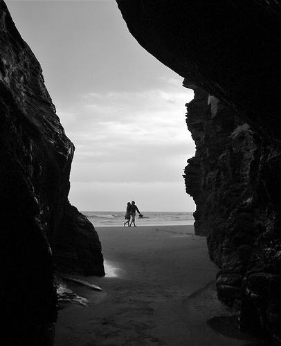 pareja en praia catedrais (3)