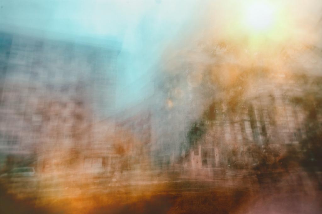 Movimiento intencionado de cámara (Fotos ICM)