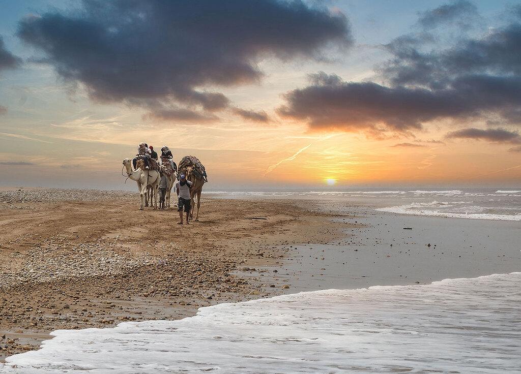 Playa árabe
