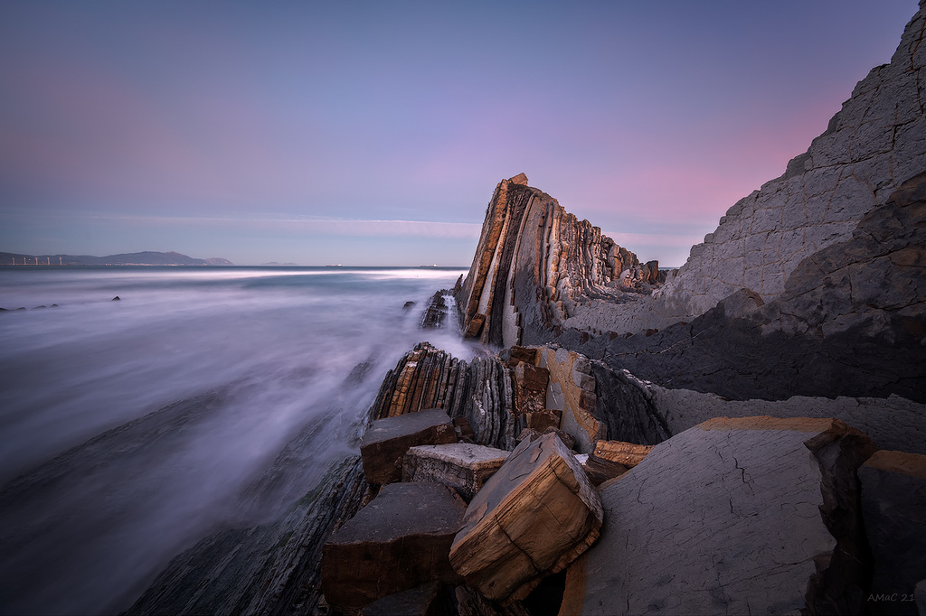 Las rocas de la salvaje