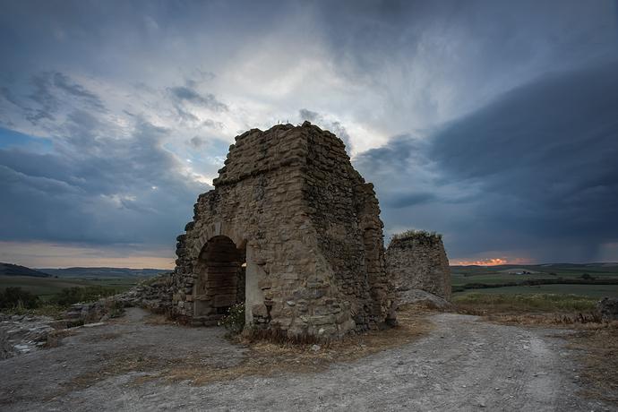 Castillo de Dos Hermanas Tormenta-91-2