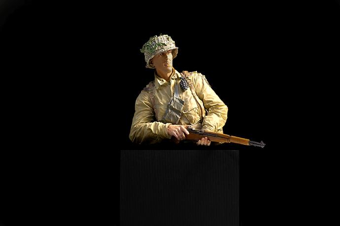 Soldado Americano en peana