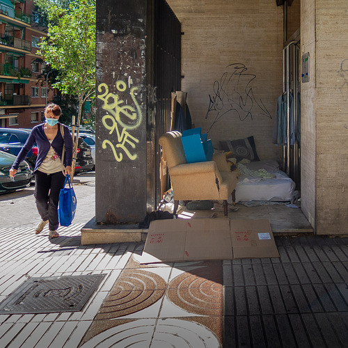 Habitacion a nivel calle