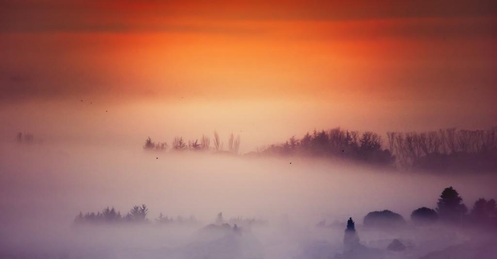 El Primer Amanecer del Invierno
