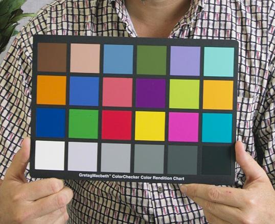 Color checker Gretag-Macbeth